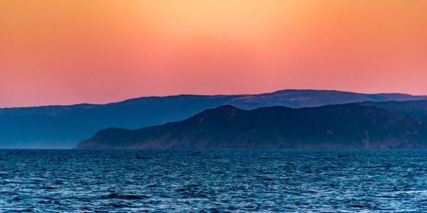 Pastel Sunset   South America Photography Art   Rick Vyrostko Photography
