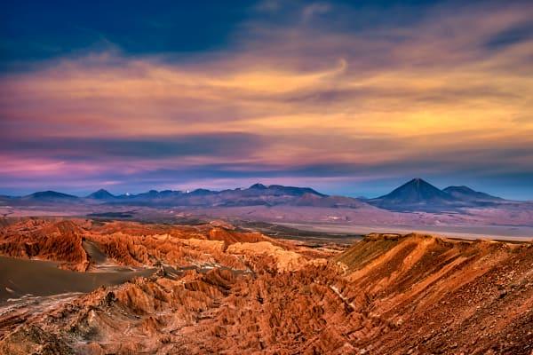 Atacama Sunset Photography Art | Rick Vyrostko Photography