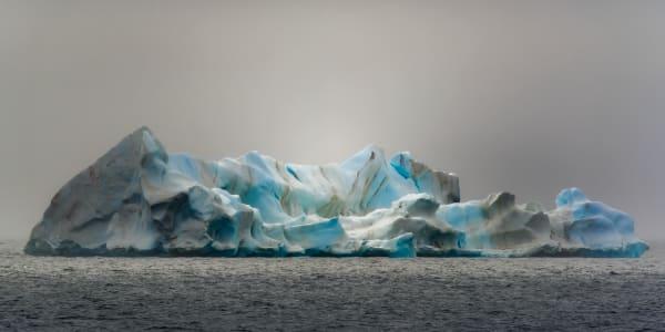 Iceberg In The Mist Photography Art | Rick Vyrostko Photography