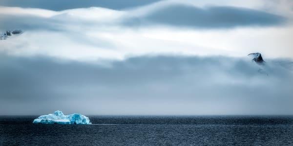 Blue Isolation Photography Art | Rick Vyrostko Photography