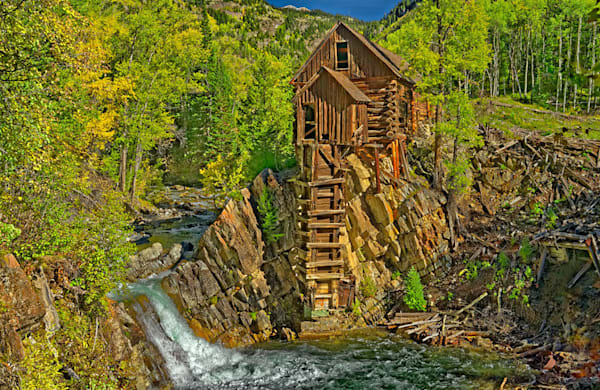 """""""Crystal Mill"""" fine art photo by Fred Neveu."""