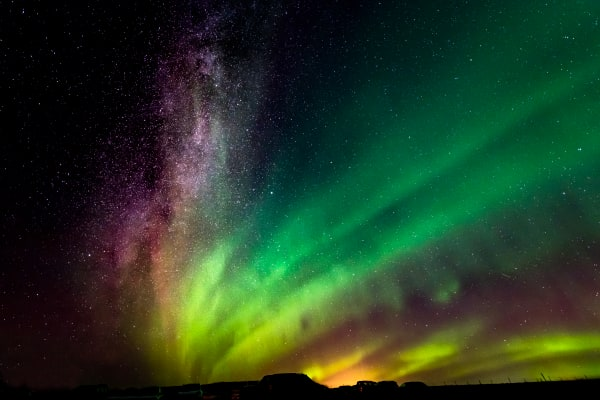 Milky Way & Northern Lights Photography Art | Rick Vyrostko Photography