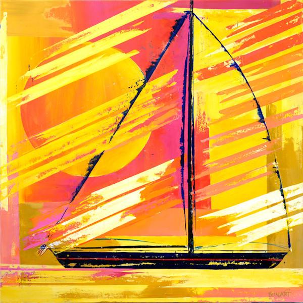 Windy Sail Art | benbonart