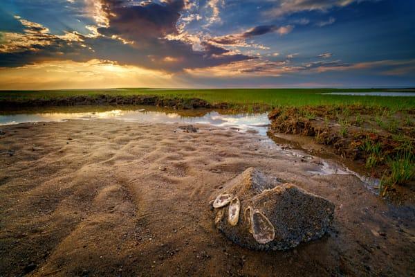Sunset on Paine's Creek Beach | Shop Photography by Rick Berk