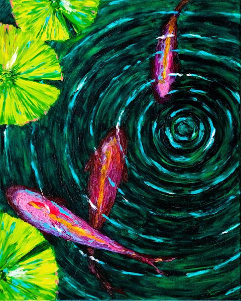 Into Depth • Original Art | Kate Wilson Fine Art