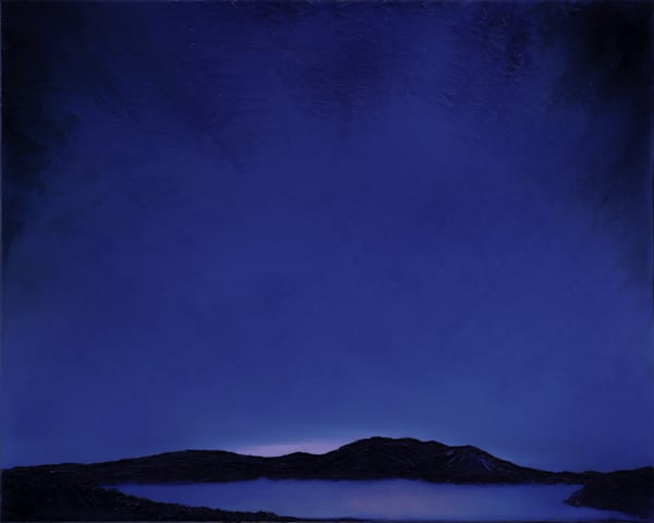 Sunapee Silhouette • Original Art | Kate Wilson Fine Art