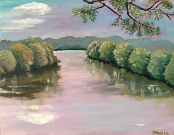 Missouri River, Judy's View Art   Wild Ponies creations