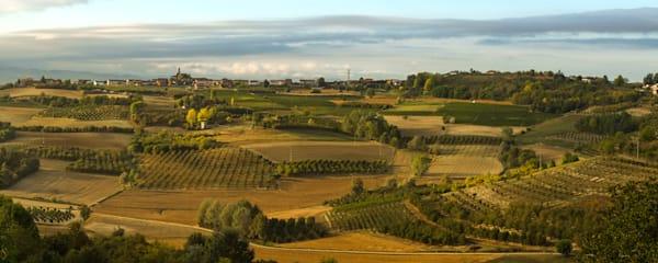 Piedmont, Italy panoramic