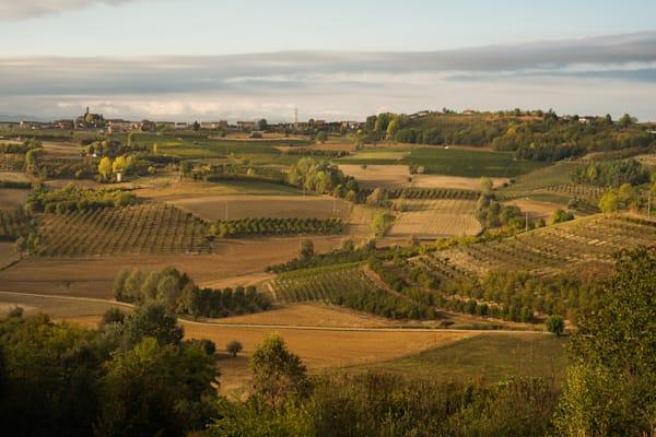Piedmont, Italy landscape
