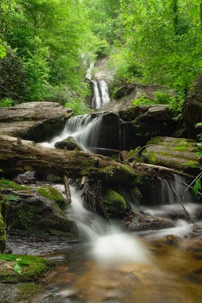 Tom's Creek Falls in Marion, NC Print