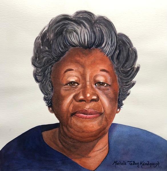 Ms. Ida Mae Cotton Art | Michele Tabor Kimbrough