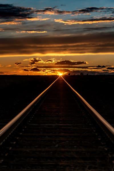 Melting into the tracks
