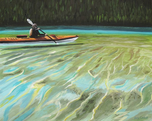 9. Kayak Study #3   50% Off Art   Kelly Corbett Artist