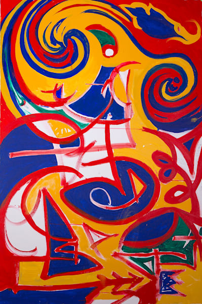 Current State Of Mind Art | Justin Hammer Art