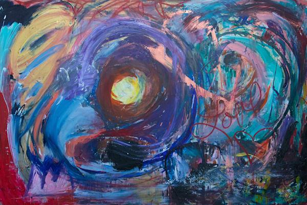 Finding The Light Art | Justin Hammer Art