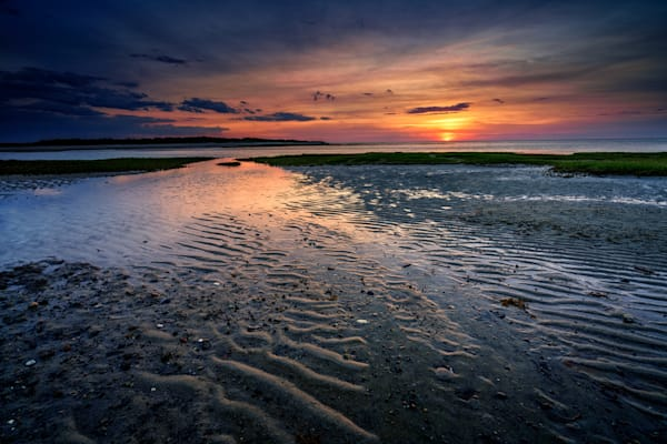 Sunset on Wing Island | Shop Photography by Rick Berk
