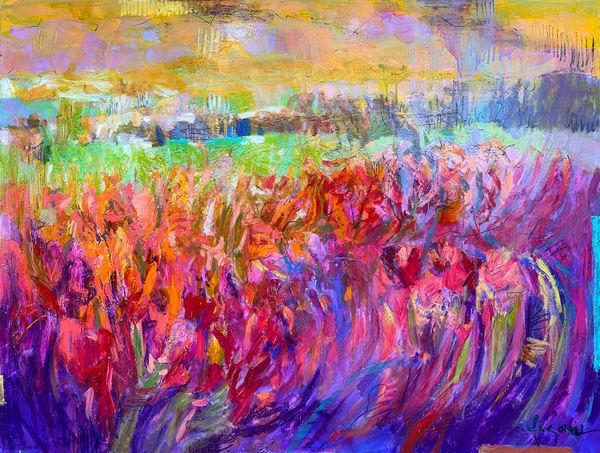 Iris Essence  Art   Dorothy Fagan Collection