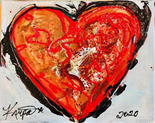 Heart Lipstick   STACIE KRUPA FINE ART - THE COLLECTION
