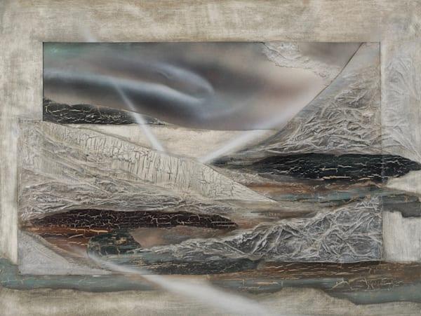 Textural Landscape  (Print) Art | Laurie Fields Studio
