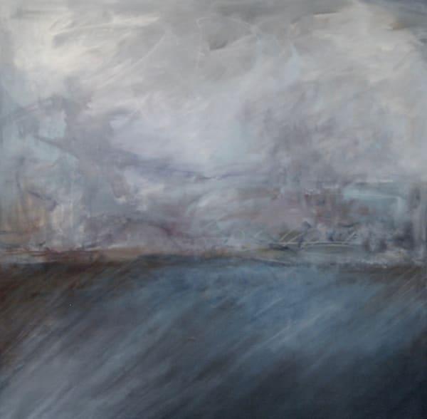Square Landscape  (Original) Art | Laurie Fields Studio