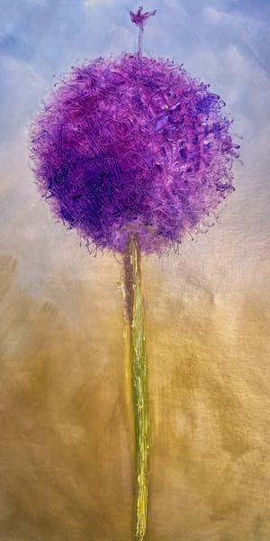 Stand Out from the Crowd is the Message from this Allium