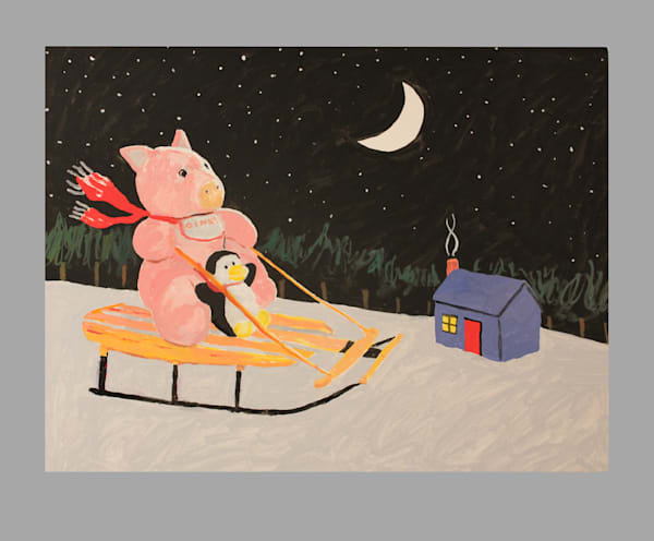 Starry Night  Sleigh Ride  Art   Not specified