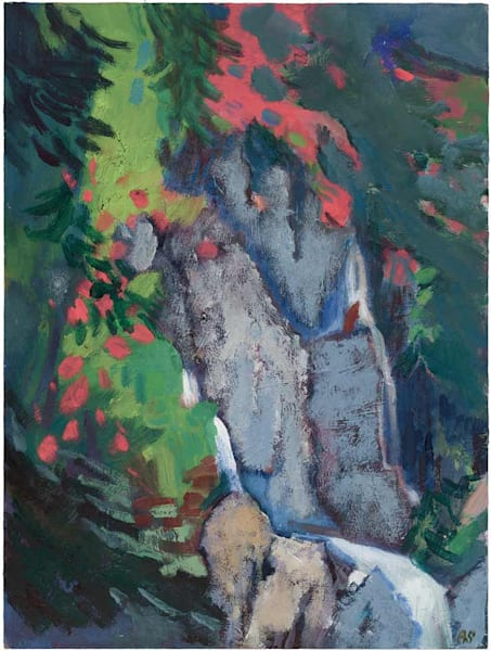 Narcissus At The Waterfall Art | Fountainhead Gallery