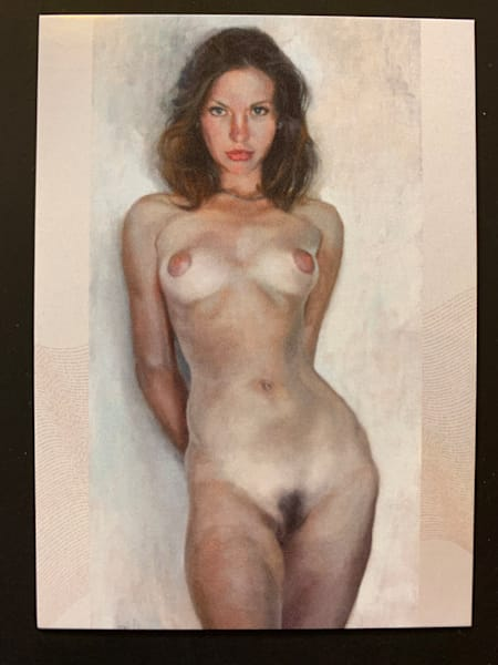 Nude Elegance Trading Card No. 006