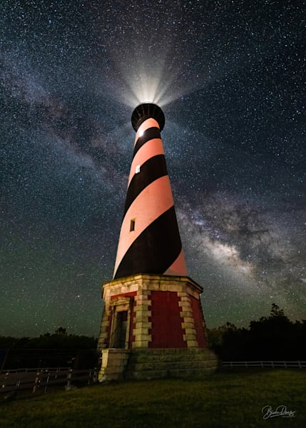 Cape Hatteras Lighthouse and the Milky Way