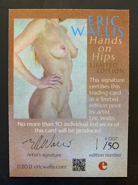Hands on Hips Trading Card No. 007
