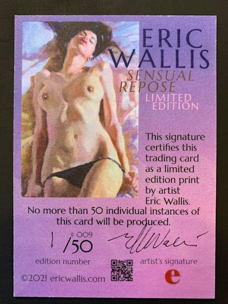 Sensual Repose Trading Card No. 009