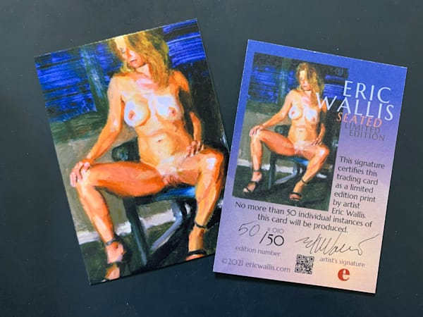 Seated Trading Card No. 010