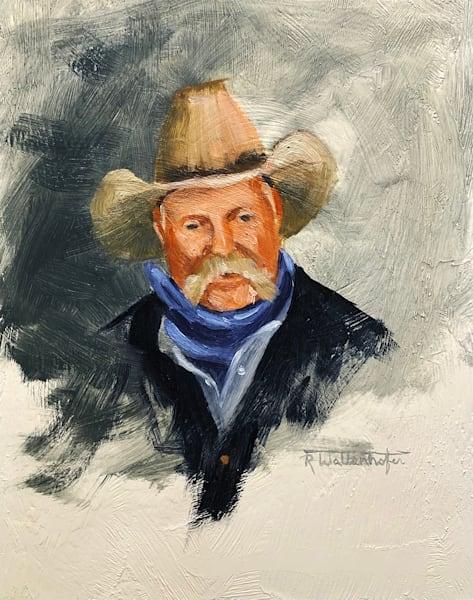"Raymond Wattenhofer Fine Art Oil Painting ""The Hand"""