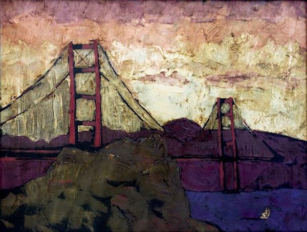 Golden Gate Bridge Art | jillalthousewood