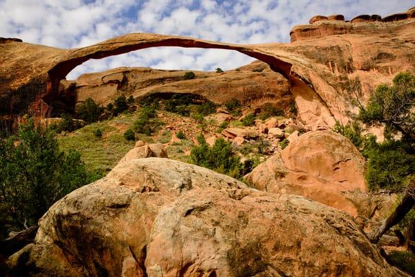 Landscape Arch Formation, Arches Nat'l Park Photography Art | Kendall Photography & Fine Art