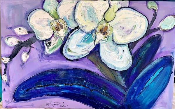 Orchid Sea Salt Boogie Woogie Art | STACIE KRUPA FINE ART - THE COLLECTION