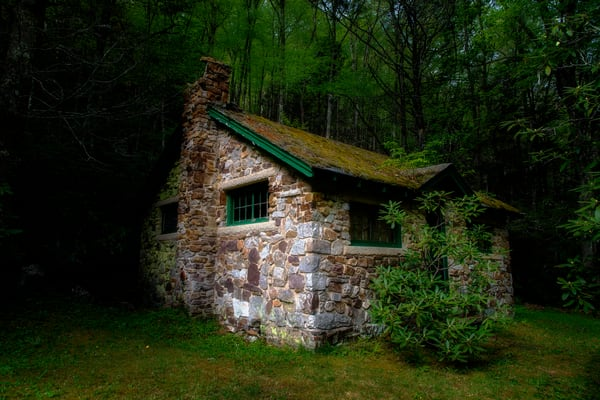Middle Earth Cabin - West Virginia fine-art photography prints