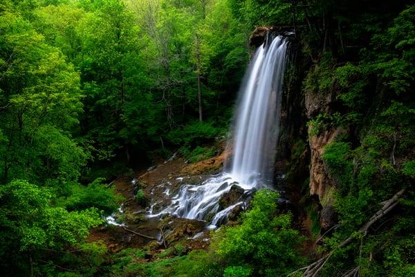 Falling Spring Falls - Virginia waterfalls fine-art photography prints
