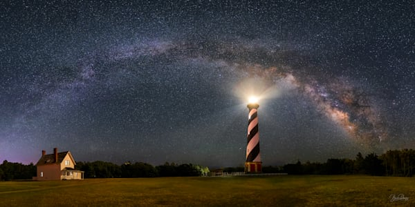 Cape Hatteras Lighthouse and the Milky Way II