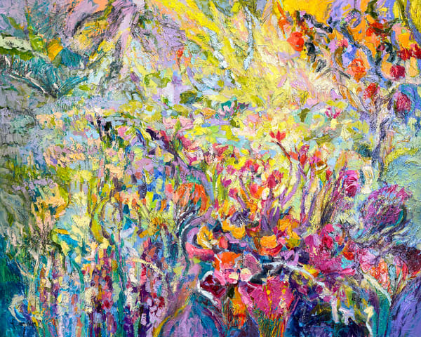 Dancing In The Garden With D'light Art   Dorothy Fagan Collection