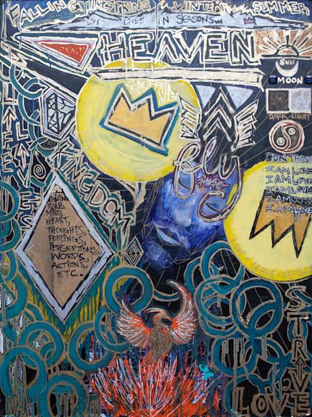 Heaven And Earth Art   Justin Hammer Art