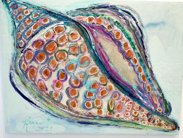 Stain Glass Sassy Sista Junonia Art | STACIE KRUPA FINE ART - THE COLLECTION