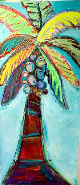 Palm Tree Majestic Lady Art | STACIE KRUPA FINE ART - THE COLLECTION