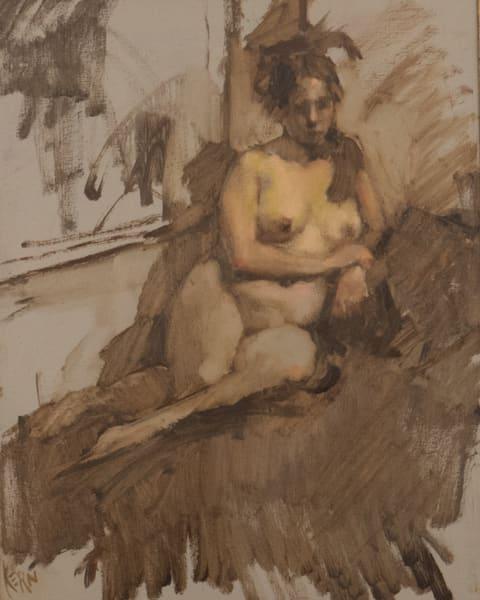 Waiting Art | Bkern Fine Art