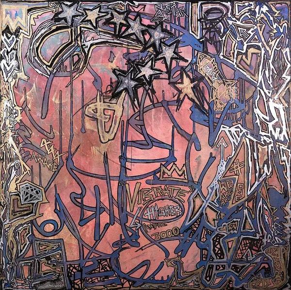 Vibrate Higher Art   Justin Hammer Art