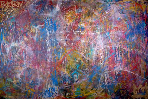 Passion Made Me Art | Justin Hammer Art