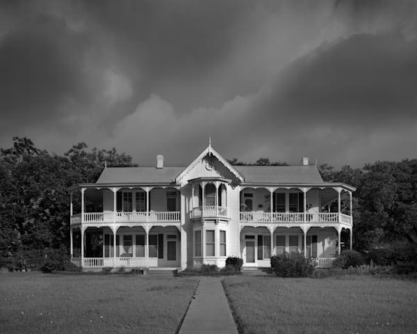 Cruchon Cabaness Spiller House, Ca 1880, Austin, Texas Photography Art | Rick Gardner Photography