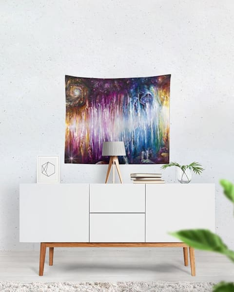 Infinite Spectrum Tapestry | Boundless Creations
