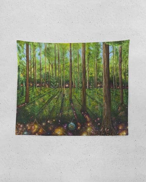 Healing Forest Tapestry | Boundless Creations