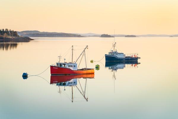 Harbor Reflections II